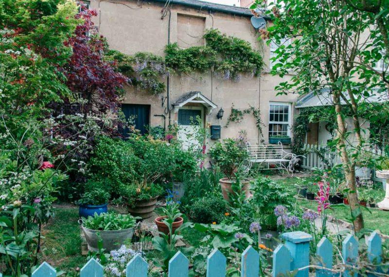 Garden stalking, Somerset