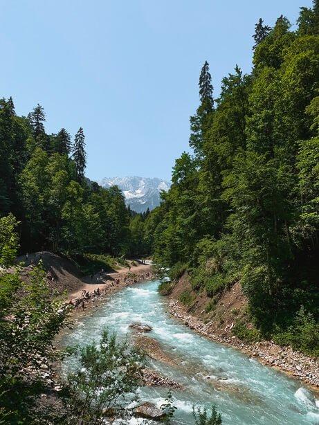 Garmisch Gorge with iPhone XR