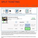 Split My Fare train ticket website